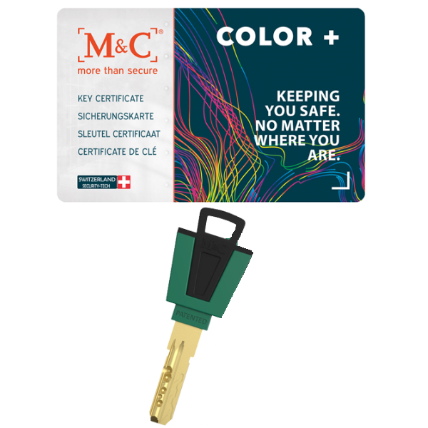 M&C color+ sleutel SKG***